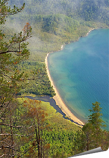 Let's go to Baikal with children!